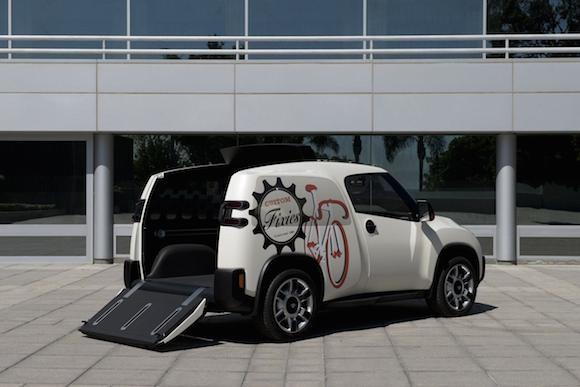 Toyota U2 Concept: Chiếc xe của những đô thị đông đúc ảnh 2