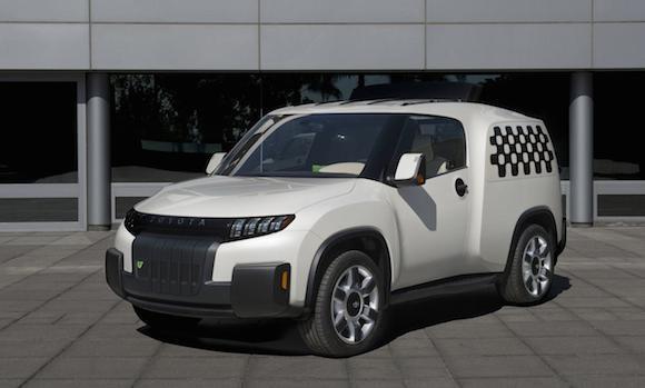 Toyota U2 Concept: Chiếc xe của những đô thị đông đúc ảnh 6