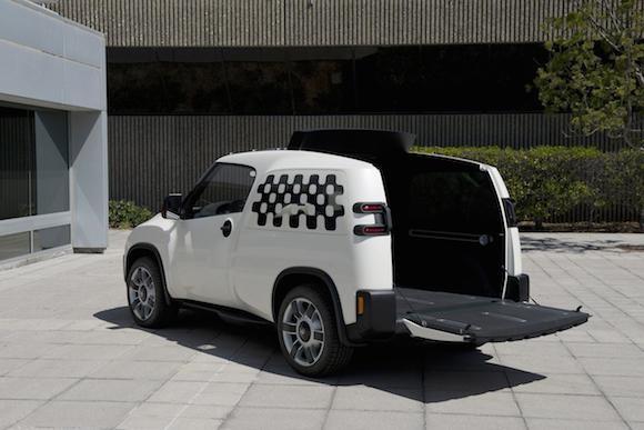 Toyota U2 Concept: Chiếc xe của những đô thị đông đúc ảnh 7