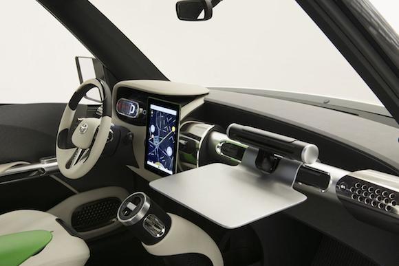 Toyota U2 Concept: Chiếc xe của những đô thị đông đúc ảnh 9