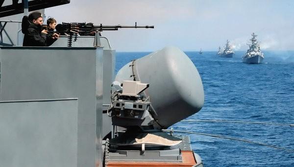 Hạm đội Thái Bình Dương của Nga bất ngờ tập trận ở biển Nhật Bản ảnh 1