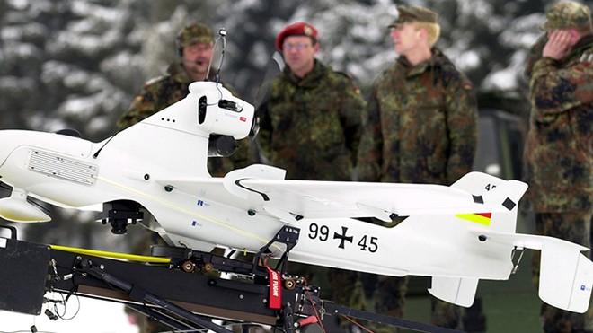 Chuyên gia máy bay không người lái của Đức, Pháp đã tới Ukraine ảnh 1