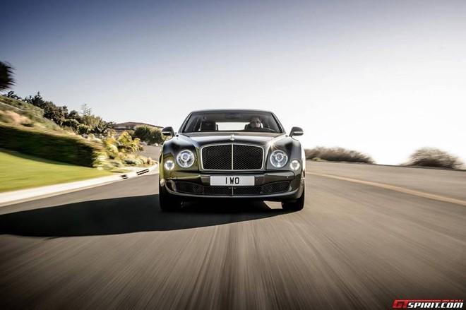Bentley Mulsanne Speed siêu sang trọng chính thức lộ diện ảnh 1