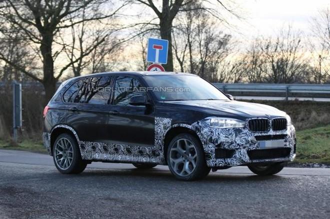 BMW X5 M được nguỵ trang khi đang chạy thử