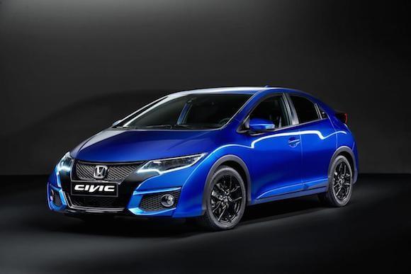 Honda giới thiệu phiên bản Civic thể thao mới ảnh 1