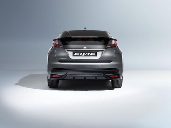 Honda giới thiệu phiên bản Civic thể thao mới ảnh 8