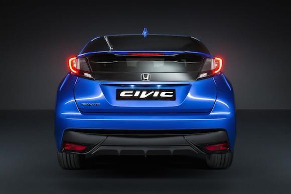 Honda giới thiệu phiên bản Civic thể thao mới ảnh 6