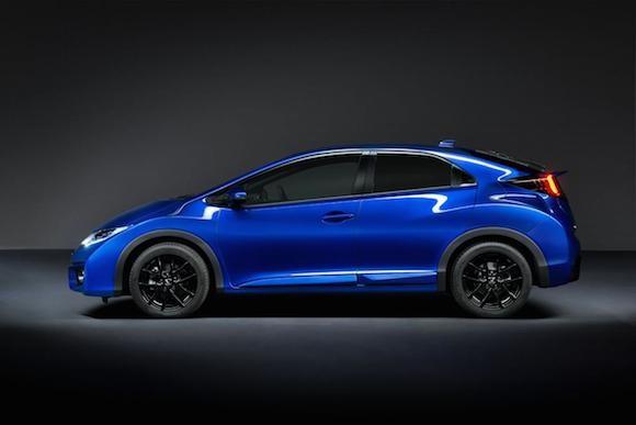 Honda giới thiệu phiên bản Civic thể thao mới ảnh 4