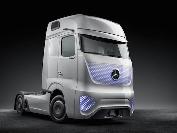 Mercedes-Benz Future Truck 2025: Chiếc xe tải đến từ tương lai ảnh 5
