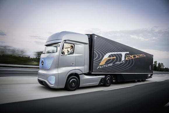 Mercedes-Benz Future Truck 2025: Chiếc xe tải đến từ tương lai ảnh 1