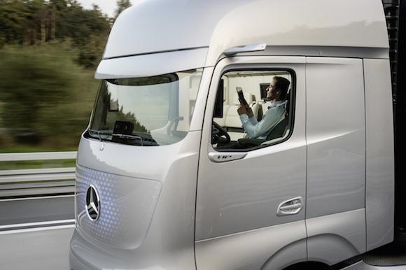 Mercedes-Benz Future Truck 2025: Chiếc xe tải đến từ tương lai ảnh 6