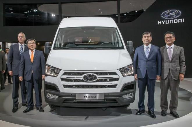 Xe chở hàng Hyundai H350 chính thức trình làng ảnh 1