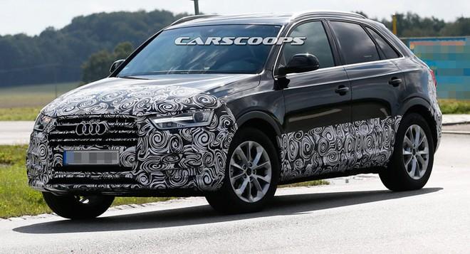 Lộ hình ảnh chạy thử nghiệm của Audi Q3 thế hệ mới ảnh 1
