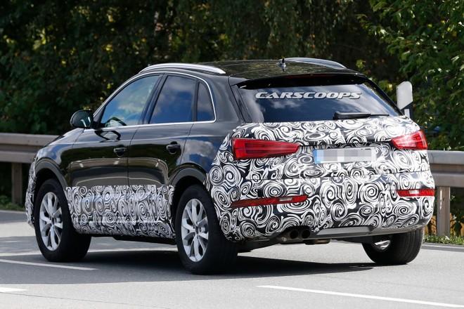 Lộ hình ảnh chạy thử nghiệm của Audi Q3 thế hệ mới ảnh 2