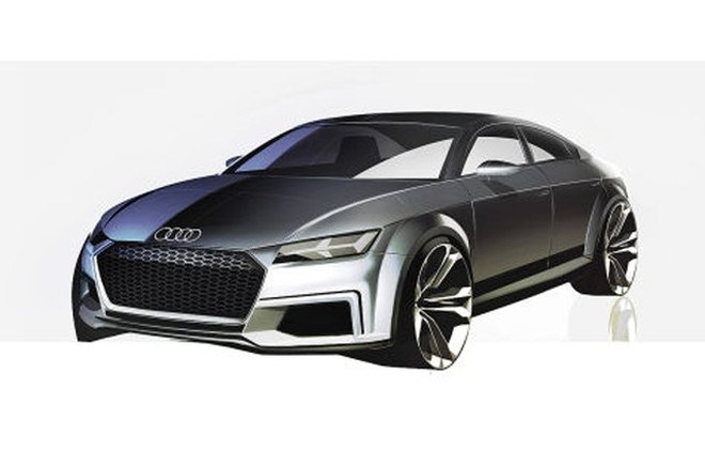 Audi sắp trình làng đối thủ mới của Mercedes-Benz CLA ảnh 1