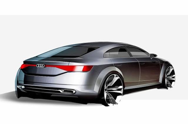 Audi sắp trình làng đối thủ mới của Mercedes-Benz CLA ảnh 2