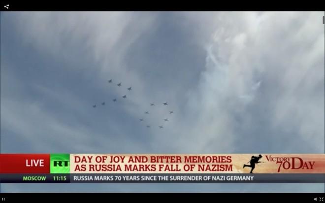 Lễ duyệt binh hùng tráng tại Quảng trường Đỏ - Moscow ảnh 54