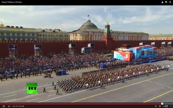 Lễ duyệt binh hùng tráng tại Quảng trường Đỏ - Moscow ảnh 56