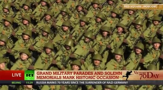 Lễ duyệt binh hùng tráng tại Quảng trường Đỏ - Moscow ảnh 28