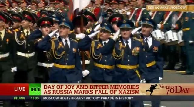 Lễ duyệt binh hùng tráng tại Quảng trường Đỏ - Moscow ảnh 30