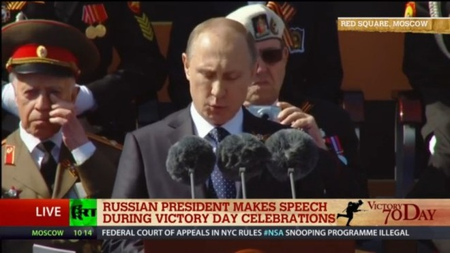 Lễ duyệt binh hùng tráng tại Quảng trường Đỏ - Moscow ảnh 20