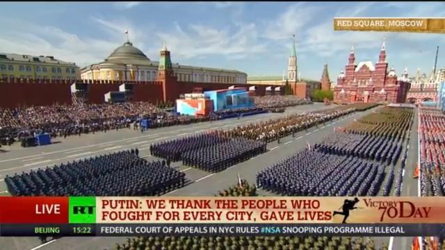 Lễ duyệt binh hùng tráng tại Quảng trường Đỏ - Moscow ảnh 23