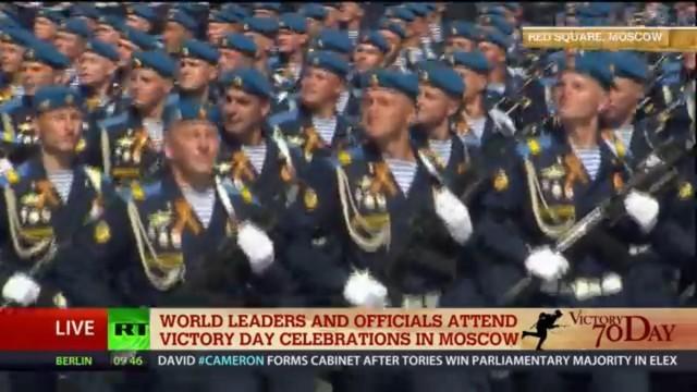 Lễ duyệt binh hùng tráng tại Quảng trường Đỏ - Moscow ảnh 33