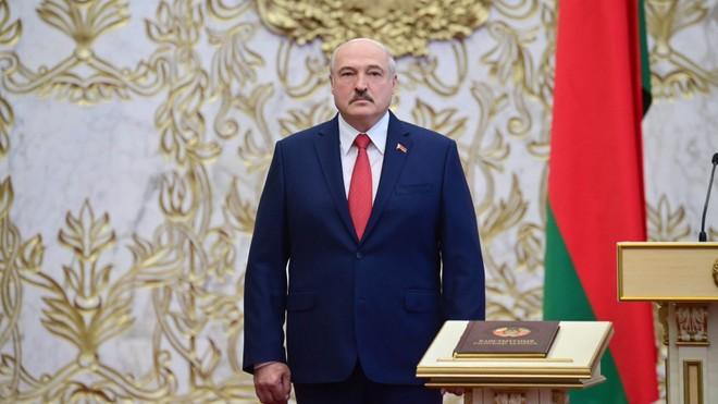 Anh - Canada trừng phạt Tổng thống Belarus ảnh 1