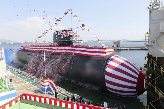 Nhật Bản hạ thủy tàu ngầm tiên tiến lớp Tengei ảnh 1