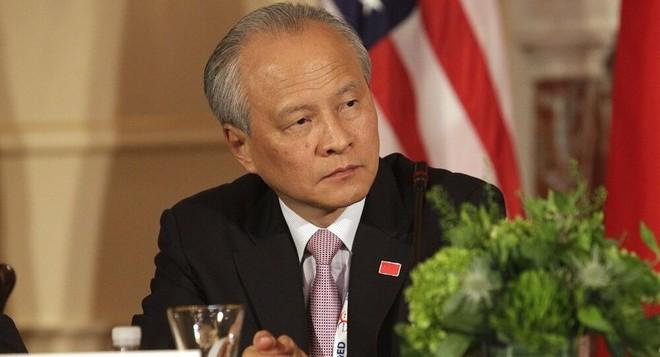 Đại sứ Trung Quốc kêu gọi Mỹ cùng chủ động cải thiện quan hệ ảnh 1