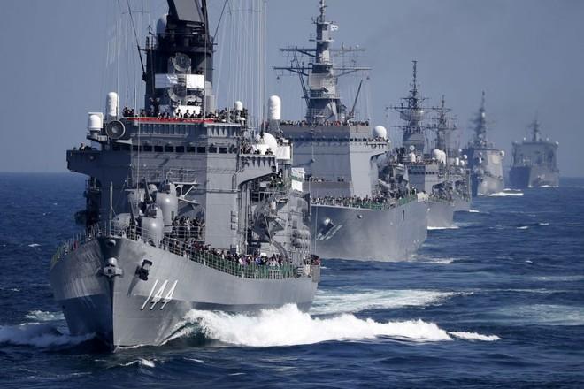 Hải quân Pháp diễn tập quân sự chung với Mỹ và Nhật Bản ảnh 1