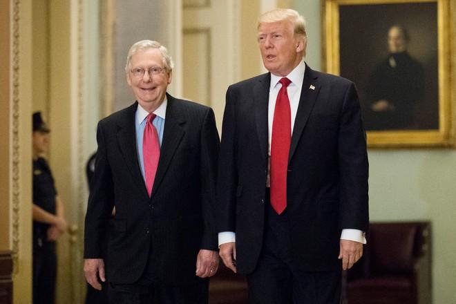 Ông Donald Trump chỉ trích lãnh đạo Đảng Cộng hòa vì ủng hộ ông Biden ảnh 1