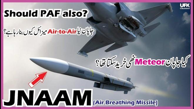 Anh và Nhật Bản hợp tác phát triển tên lửa tối tân JNAAM ảnh 1