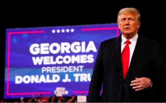 Ông Donald Trump kiện quan chức bang Georgia vì để lộ băng ghi âm ảnh 1