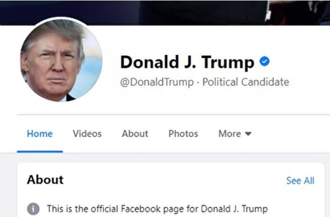 Facebook, Instagram bất ngờ mở khóa tài khoản Tổng thống Donald Trump ảnh 1
