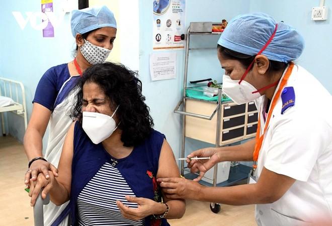 [ẢNH] Cận cảnh chương trình tiêm chủng lớn nhất thế giới ở Ấn Độ ảnh 1