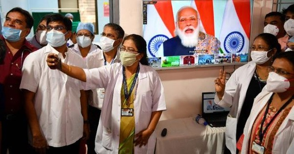 [ẢNH] Cận cảnh chương trình tiêm chủng lớn nhất thế giới ở Ấn Độ ảnh 4