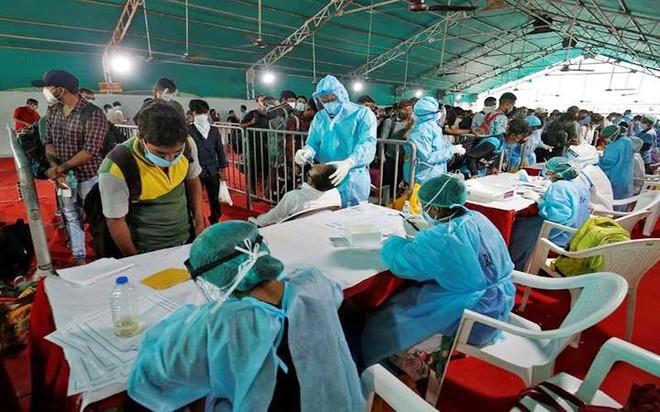 [ẢNH] Cận cảnh chương trình tiêm chủng lớn nhất thế giới ở Ấn Độ ảnh 2