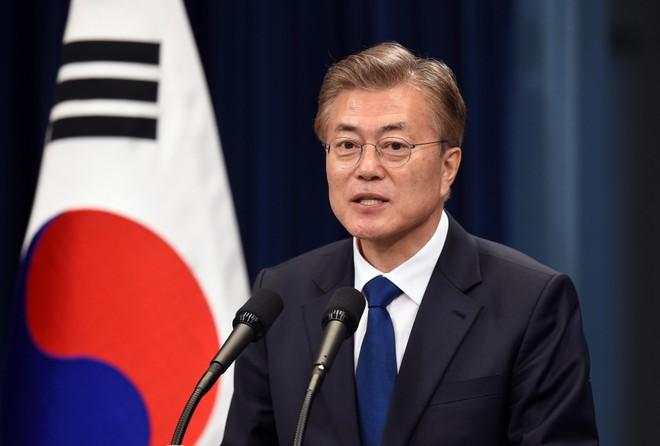 Tổng thống Hàn Quốc lên tiếng thúc đẩy phi hạt nhân hóa bán đảo Triều Tiên ảnh 1