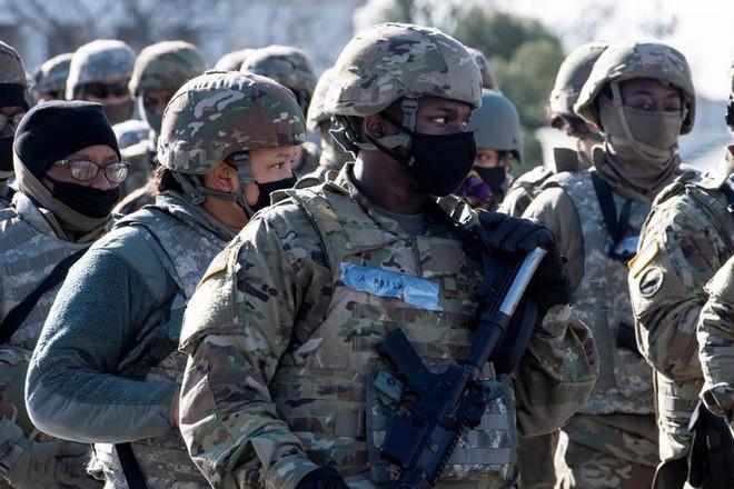 150 - 200 lính bảo vệ lễ nhậm chức của ông Joe Biden dương tính với SARS-CoV-2 ảnh 1