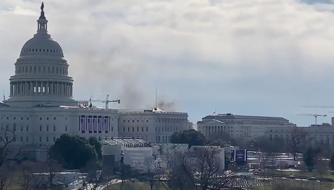 Điện Capitol lại bất ngờ bị phong tỏa ảnh 1