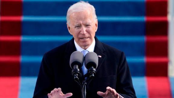 Tổng thống Joe Biden muốn kết thúc nhanh phiên luận tội ông Donald Trump ảnh 1