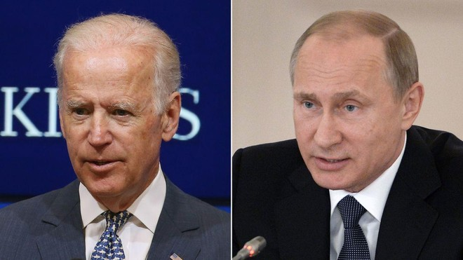 Tổng thống Joe Biden lần đầu điện đàm với ông Putin ảnh 1
