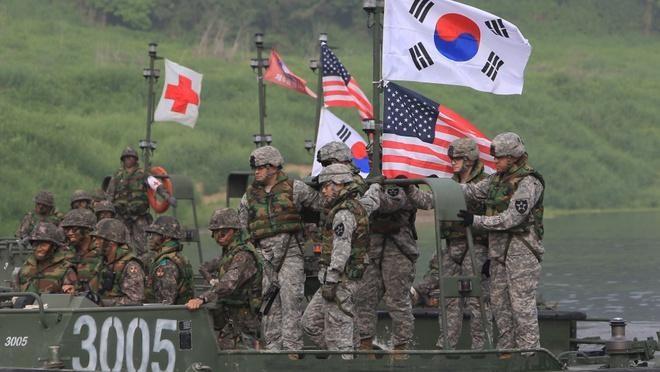 Mỹ - Hàn Quốc nỗ lực hoàn thiện thỏa thuận chia sẻ chi phí quân sự ảnh 1