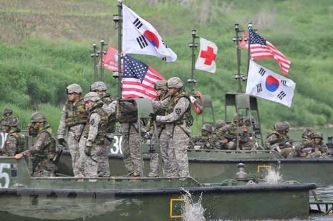 Mỹ - Hàn Quốc chuẩn bị tập trận thường niên mùa xuân vào tháng 3-2021 ảnh 1