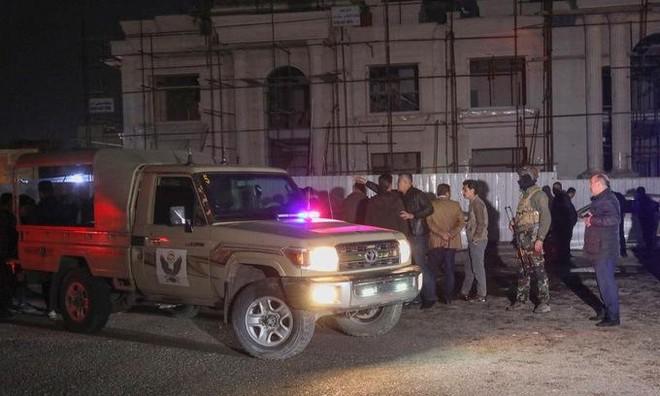 Căn cứ quân sự Mỹ bị tấn công ở Iraq, một người thiệt mạng ảnh 1