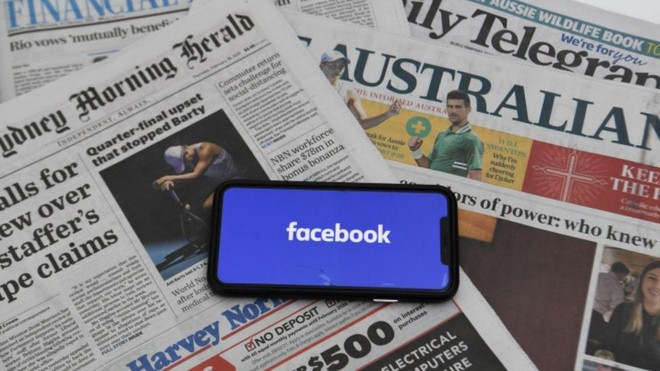 Facebook nối lại hoạt động các trang tin tức của Australia ảnh 1