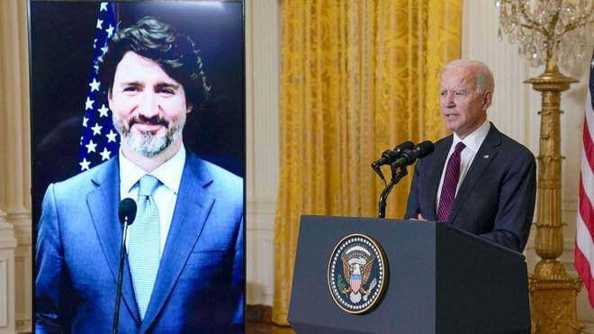 Lãnh đạo Mỹ - Canada cam kết đưa quan hệ sang trang mới ảnh 1