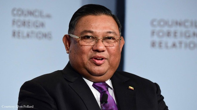 Đại diện quân đội Myanmar đến Thái Lan thảo luận giải quyết khủng hoảng ảnh 1