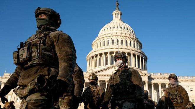 Lầu Năm Góc chấp thuận duy trì vệ binh quốc gia tại Điện Capitol ảnh 1